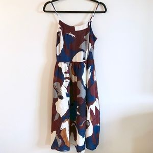 LOFT | Rich Watercolor Dress